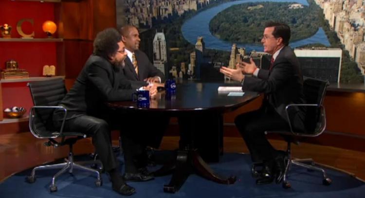 Cornel West and Tavis Smiley on The Colbert Report
