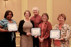 CSBG Data Champions and Board President
