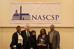 The Ann Kagie Service Award Winner, Linda Snead