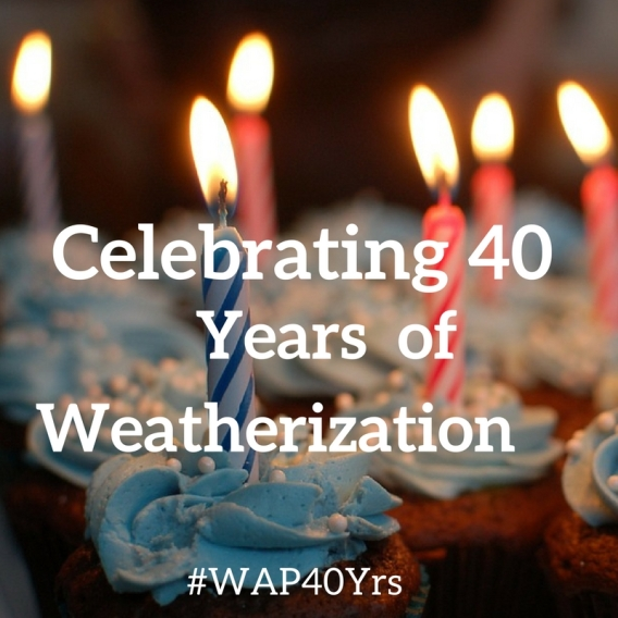 The Weatherization Assistance Program turns 40 yea