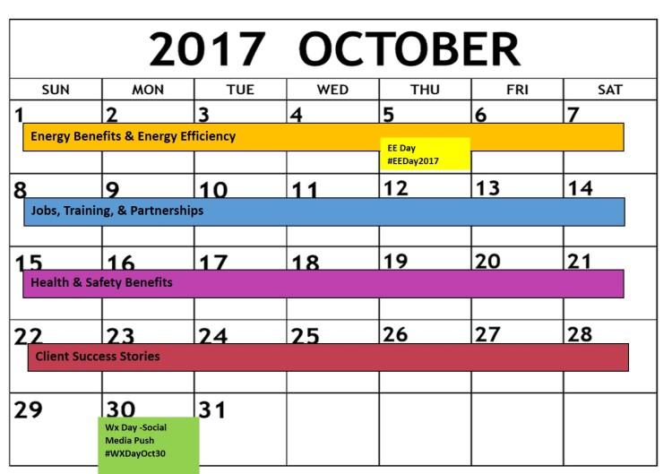 WAP Day Calendar